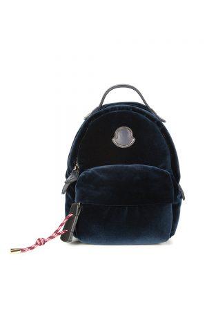 Moncler Women's Juniper Backpack Bag Dark Blue