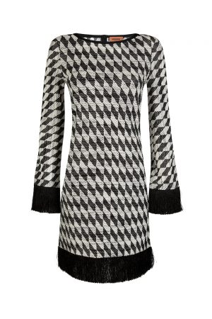 Missoni Women's Diamond patterned Dress Black