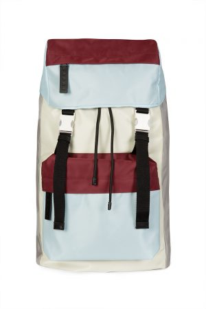 Marni Men's Colour Block Backpack Multicoloured