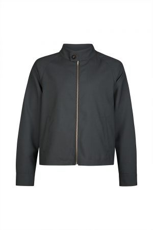 Marni Men's High Neck Blouson Grey