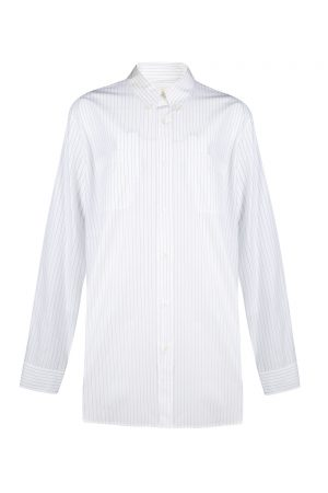 Marni Men's Pinstripe Shirt White