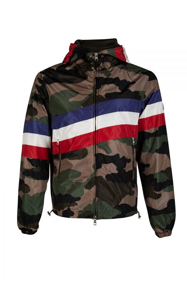 Moncler Allain Men's Windbreaker Jacket Camouflage