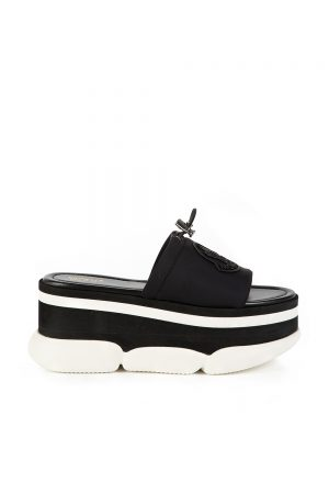 Moncler Zaira Women's Platform Sandals Black