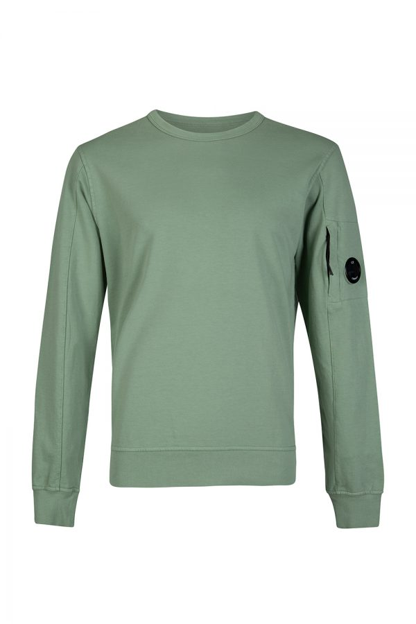 C.P. Company Men's Crew-neck Sweatshirt Green