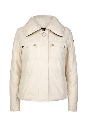 Belstaff Bougham Women's Puffer Jacket Cream