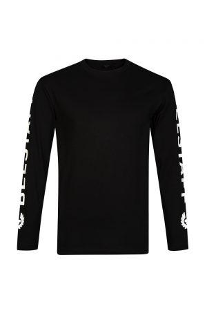 Belstaff Bratton Men's Logo Sleeve Top Black