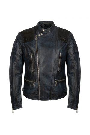 Belstaff Trelow Men's Biker Jacket Navy