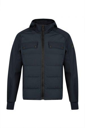 Belstaff Harlyn Men's Puffer Jacket Navy