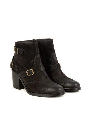 Belstaff Trialmaster Women's Short Boots Grey