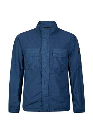 Belstaff Erwin Men's Nylon Jacket Blue