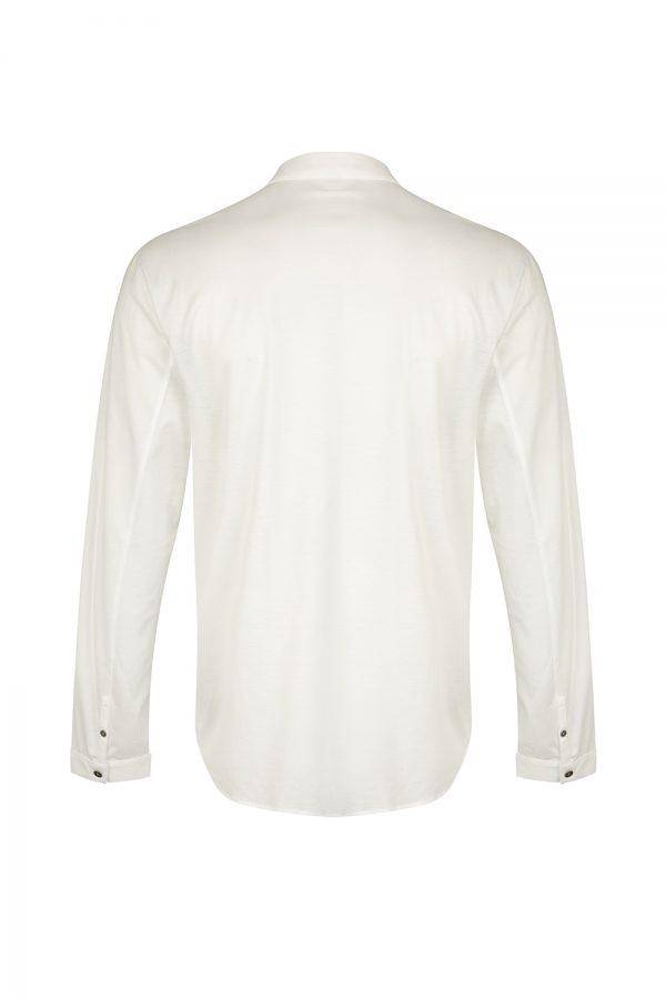 John Varvatos Men's Cotton Shirt White