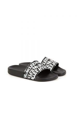 Moncler Jeanne Women's Sliders Black