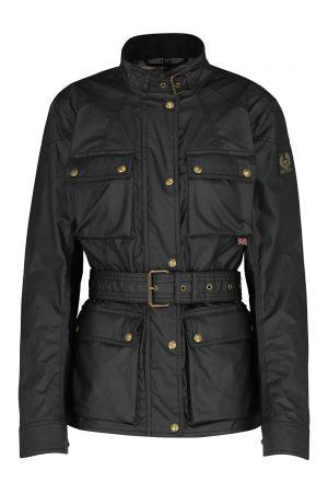 Belstaff Roadmaster Ladies Wax Biker Jacket Black