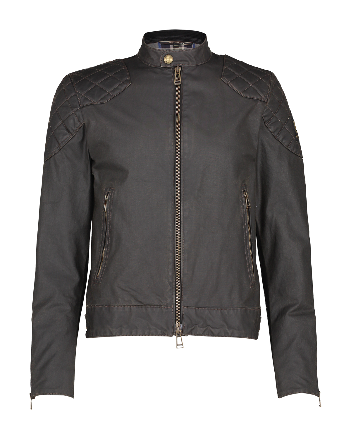 243de44e6f Belstaff Men's Outlaw Waxed Cotton Blouson Black | Linea Fashion
