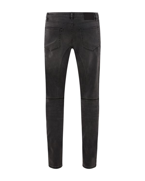 Belstaff Men's Eastham Tapered Jeans Charcoal Grey BACK