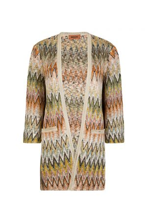 Missoni Women's Zig Zag Cardigan Multicoloured