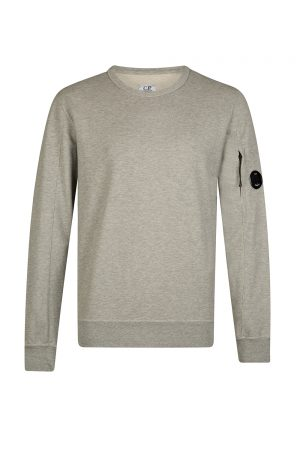 C.P. Company Men's Round-neck Sweatshirt Grey
