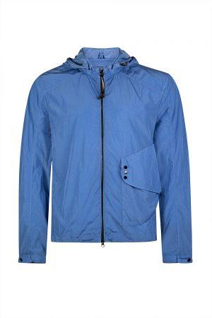 C.P. Company Men's Windbreaker Jacket Blue