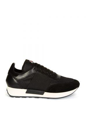 Moncler Horace Men's Lace-up Sneakers Black