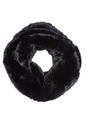 Mila Furs Zahara Ladies Snood Black