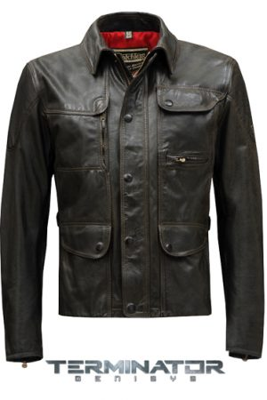 Matchless Terminator Men's Motorcycle Jacket Black