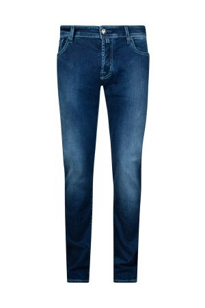 Jacob Cohën J622 Comfort Men's Stonewashed Jeans Dark Blue