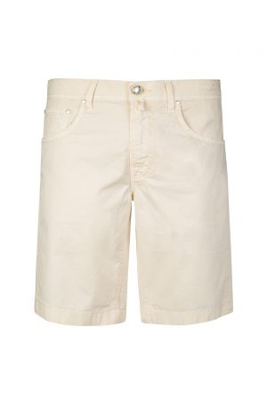 Jacob Cohën Men's Cotton-blend Chino Shorts Beige