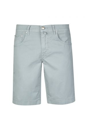Jacob Cohën Men's Stretch Cotton Shorts Blue