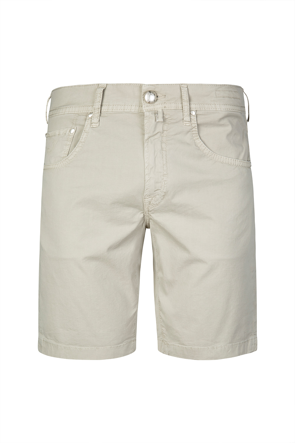 79b14d9de7 Jacob Cohën Men's Cotton Bermuda Shorts Light Grey | Linea Fashion