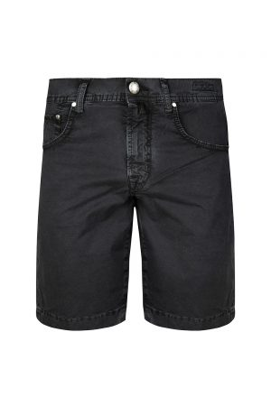 Jacob Cohën Men's Vintage Washed Chino Shorts Black