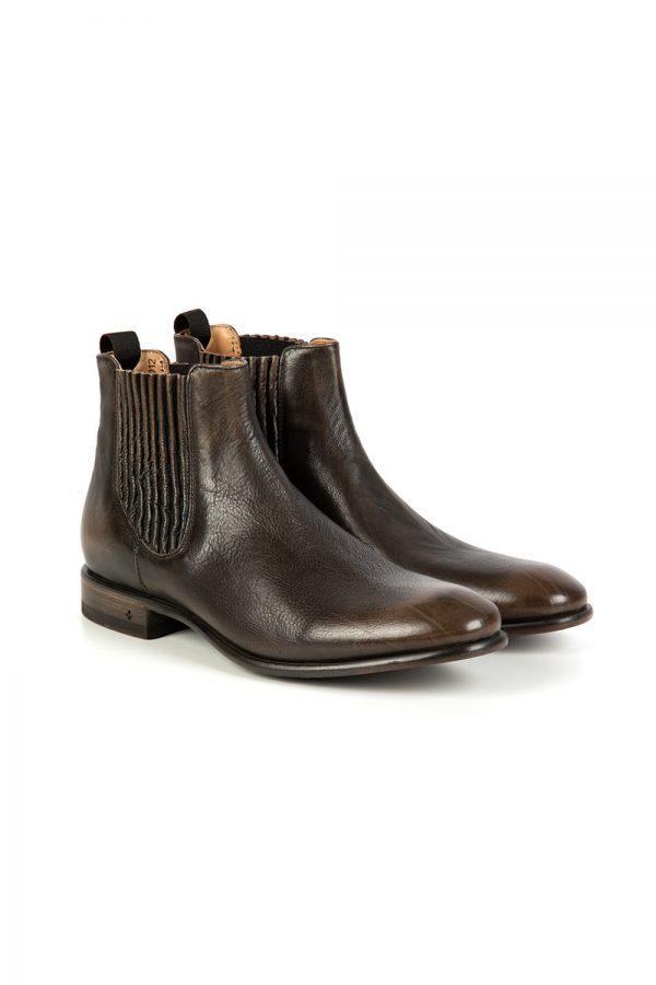 John Varvatos Men's Eldridge Chelsea Boots Grey