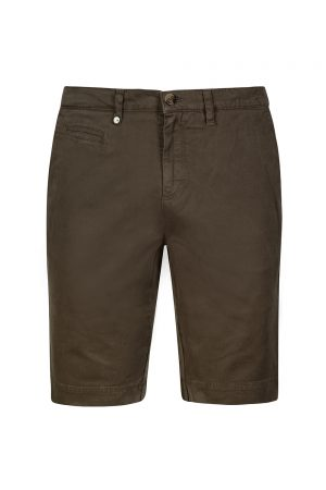 Sand Dolan Men's Cotton-blend Shorts Khaki