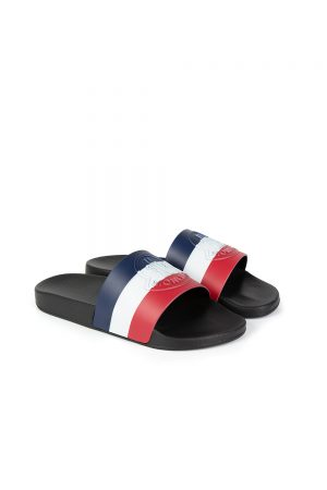 Moncler Basile Men's Sliders Black