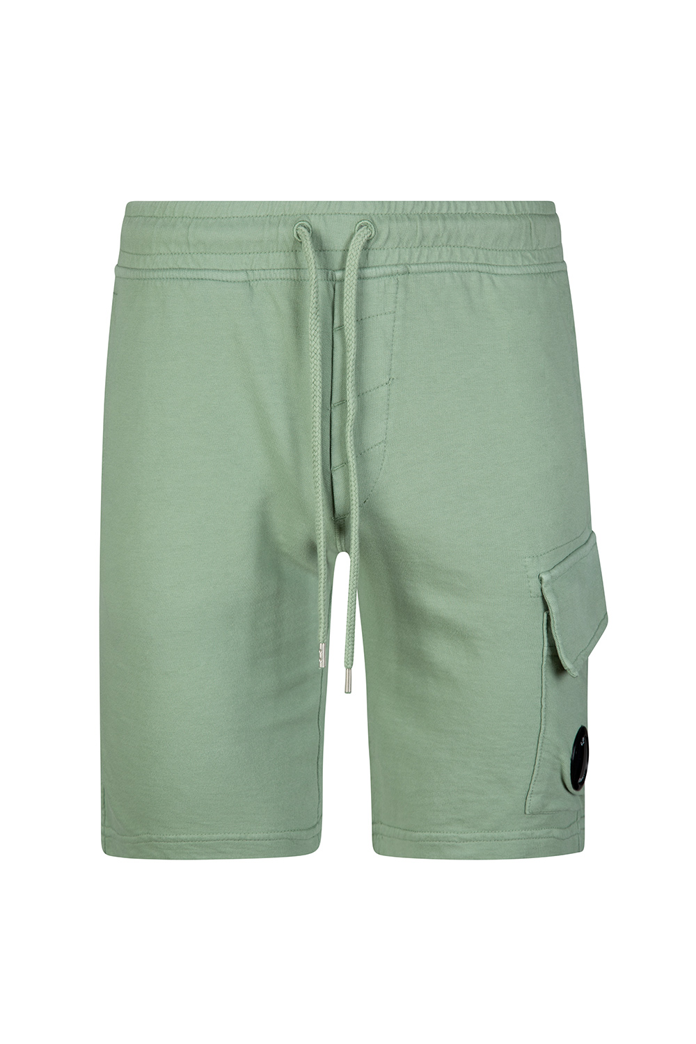 dea7433cd1 C.P. Company Men's Cotton Bermuda Shorts Green | Linea Fashion