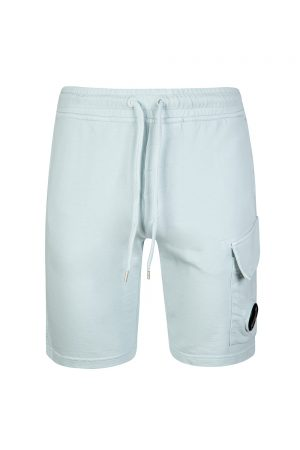 P. Company Men's Cotton Jersey Shorts Blue