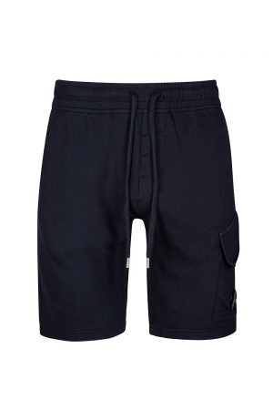 C.P. Company Men's Cotton Track Shorts Navy