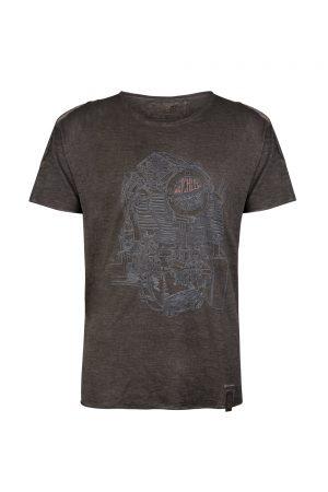 Matchless Hawk Men's Crew-neck T-shirt Grey
