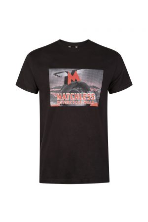 Matchless Men's Earth Motif T-shirt Black