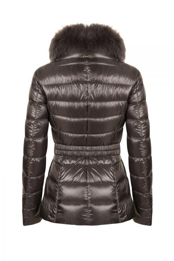Herno Women's Claudia Belted Jacket Grey