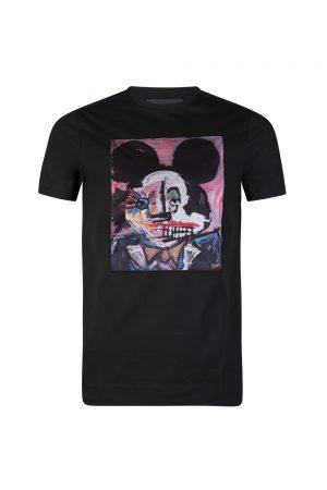Limitato Mjau Men's Graphic Print T-shirt Black