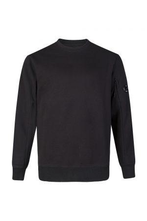 C.P. Company Men's Goggle Lens Sweatshirt Black