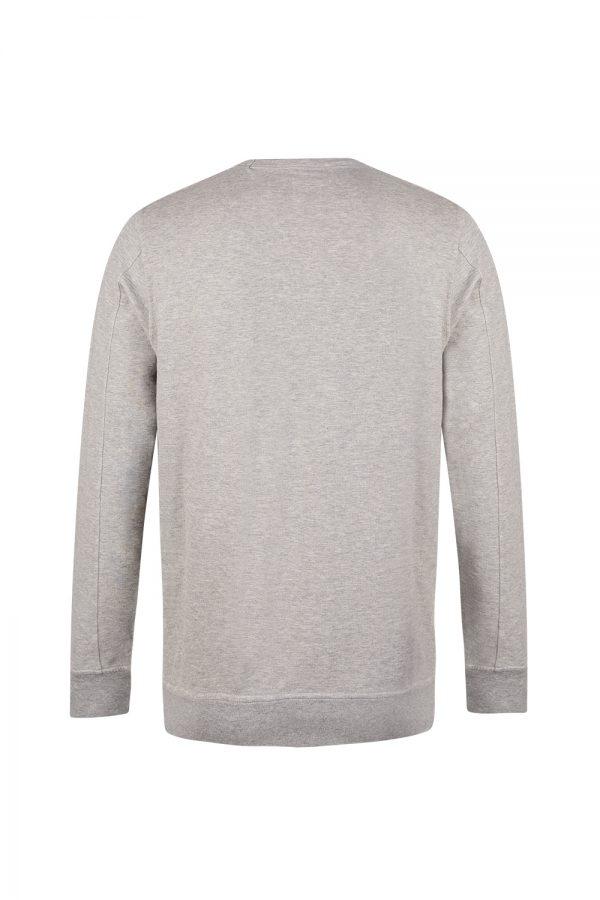 C.P. Company Men's Embroidered Logo Sweatshirt Grey