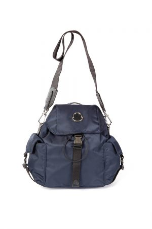 Moncler Dauphine PM Women's 2-way Backpack Navy
