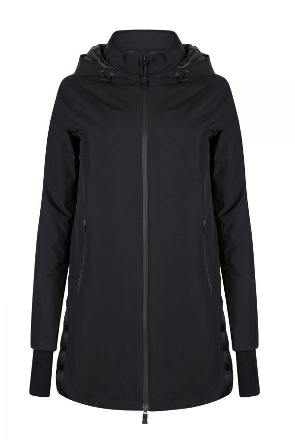 Herno Women's Laminar Gore-tex Down Coat Black