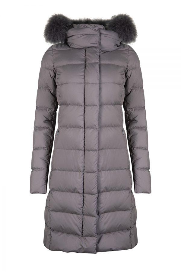 Herno Women's Polartech Puffer Coat Grey